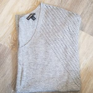 Express perforated sweater